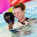 Olivia and Starfish Children at Stanway Pool