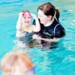 Sue & Abigail with Starfish Children at Whites Farm pool