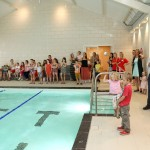 First Strokes Swimming Pool Ipswich on Launch Day